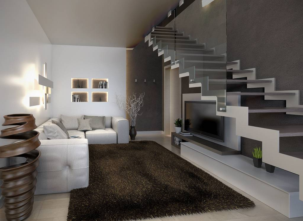 Villetta duplex residenze delphi for Interni di villette